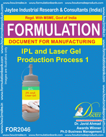 IPL & Lase Gel Production Process 3 (Formula 2046)
