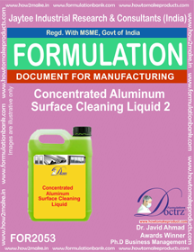 Concentrated Aluminium Cleaning Liquid 2 (Formula 2053)