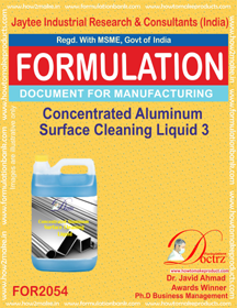 Concentrated Aluminium Cleaning Liquid 2 (Formula 2054)