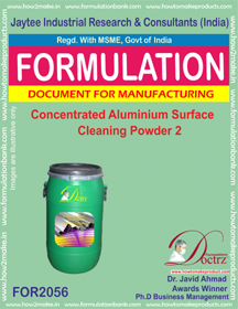 Concentrated Aluminium Cleaning Powder 2 (Formula 2056)