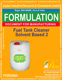Fuel Tank Cleaner Solvent Based 2 (Formula 2060)