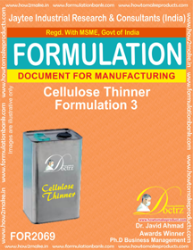 Cellulose Thinner Formulation 3 (Formula 2069)