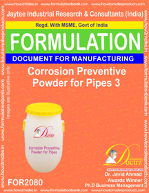 Corrosion Preventive Powder for Pipes 3 (Formula 2080)