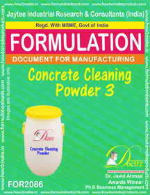 Concrete Cleaning Powder 3 (Formula 2086)