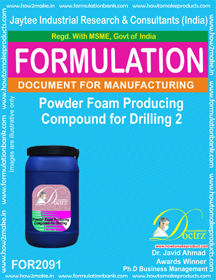 Powder Foam Producing Compound for Drilling 2 (Formula 2091)