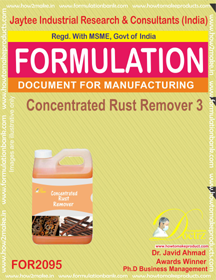 Concentrated Rust Remover 3 (Formula 2095)