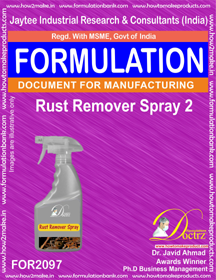 Rust Remover Spray 2 (Formula 2097)