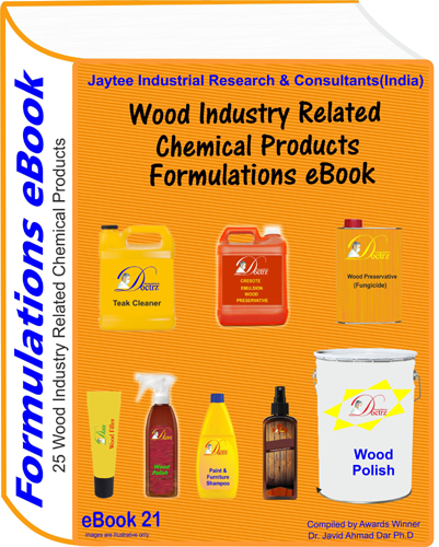Wood Industry Related Products Formulations eBook (eBook21)
