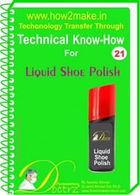 Technical knowHow report for Shoe polish (TNHR 21)