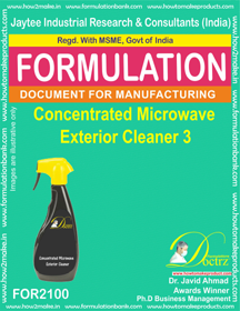 Concentrated Microwave Exterior Cleaner-2 (Formula 2100)