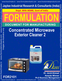 Concentrated Microwave Exterior Cleaner-3 (Formula 2101)