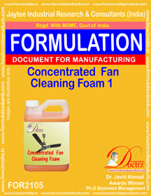 Concentrated Fan Cleaning Foam Formula-1 (FOR2105)
