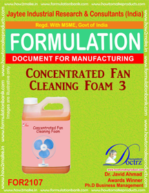 Concentrated Fan Cleaning Foam Formula-3 (FOR2107)