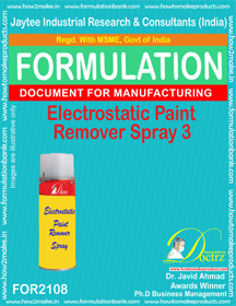 Electrostatic Paint Remover Spray-3 (FOR 2108)