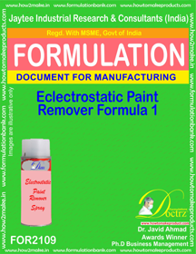 Electrostatic Paint Remover Formula-1 (FOR 2109)