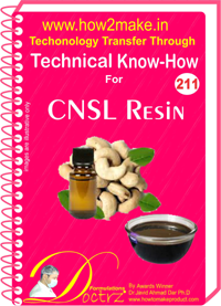 Technical Know-How Report for CASNL Resin (TNHR211)