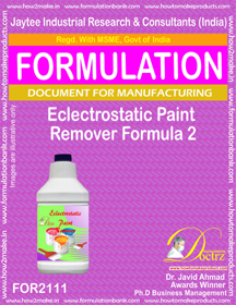 Electrostatic Paint Remover Formula-2 (FOR 2111)
