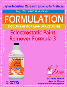Electrostatic Paint Remover Formula-3 (FOR 2112)