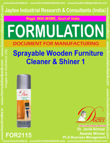 Spray-able wooden furniture cleaner and shiner-1(FOR2115)