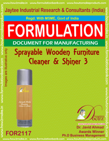 Spray-able wooden furniture cleaner and shiner-3(FOR2117)
