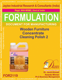 Wooden furniture Concentrate Cleaning Polish 2(FOR2119)