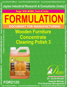 Wooden furniture Concentrate Cleaning Polish 3(FOR2120)