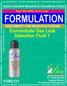 Concentrated Gas Leak Detention Fluid-1 (FOR2121)