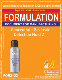 Concentrated Gas Leak Detention Fluid-2 (FOR2122)