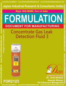 Concentrated Gas Leak Detention Fluid-3 (FOR2123)