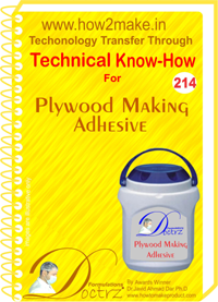 Technical Know-How Report for Polywood Making Adhesive (TNHR21