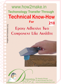 Technical Know-How Report for Epoxy Adhesive Two Component Like