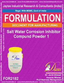 Salt water corrosion inhibitor Compound Powder 1( FOR 2182)