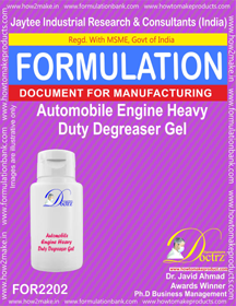 Automobile Engine Heavy Duty De-Greaser Gel (FOR 2202)