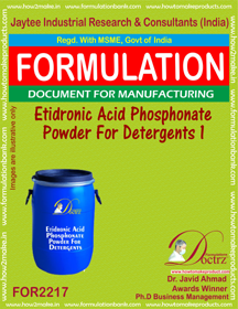 Editronic Acid Phasphonate Powder For Deteregent I (FOR 2217)