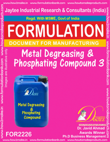 Metal Degreasing and Phosphating compound 3 (FOR 2226)