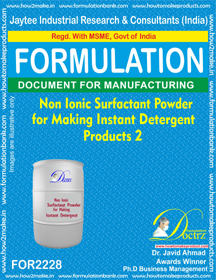 Non Ionic Surfactant Powder for making detergent 2(FOR 2228)