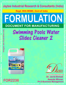Swimming Pool Water slides Cleaner Compound( FOR 2236)