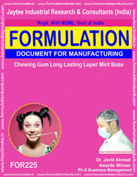 Chewing Gum Long Lasting Peppermint Base