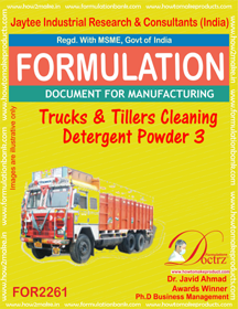 Automobile Truck & Tillers Cleaning Powder 3 (FOR 2261)