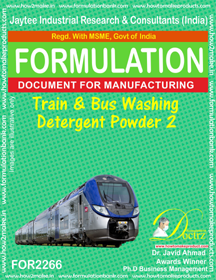Train and Bus Washing detergent Powder-2 (FOR 2266)