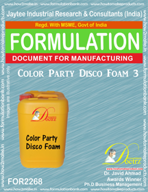 Color Party Disco Foam-3 (FOR 2268)