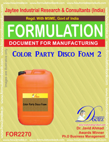 Color Party Disco Foam-2 (FOR 2270)