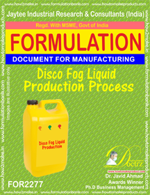 Disco Fog Liquid Production Process formula (for2277)