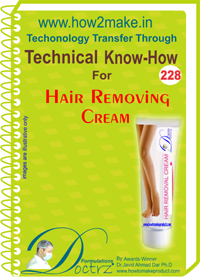Technical Know-How Report for Hair Removing Cream (TNHR228)