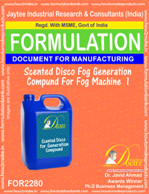 Scented Disco Fog Generation Compound for Fog Machine (for2280)