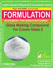 Glass Making Compound for Crown Glass 2 (for2284)