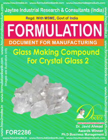 Glass Making Compound for Crystal Glass 2 (for2286)
