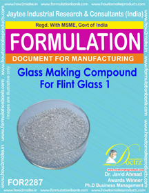Glass Making Compound for Flint Glass 1 (for2287)