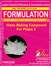 Glass Making Compound for Plates 2 (for2289)