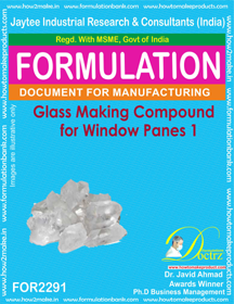 Glass Making Compound for Windowpanes 1 (for2291)
